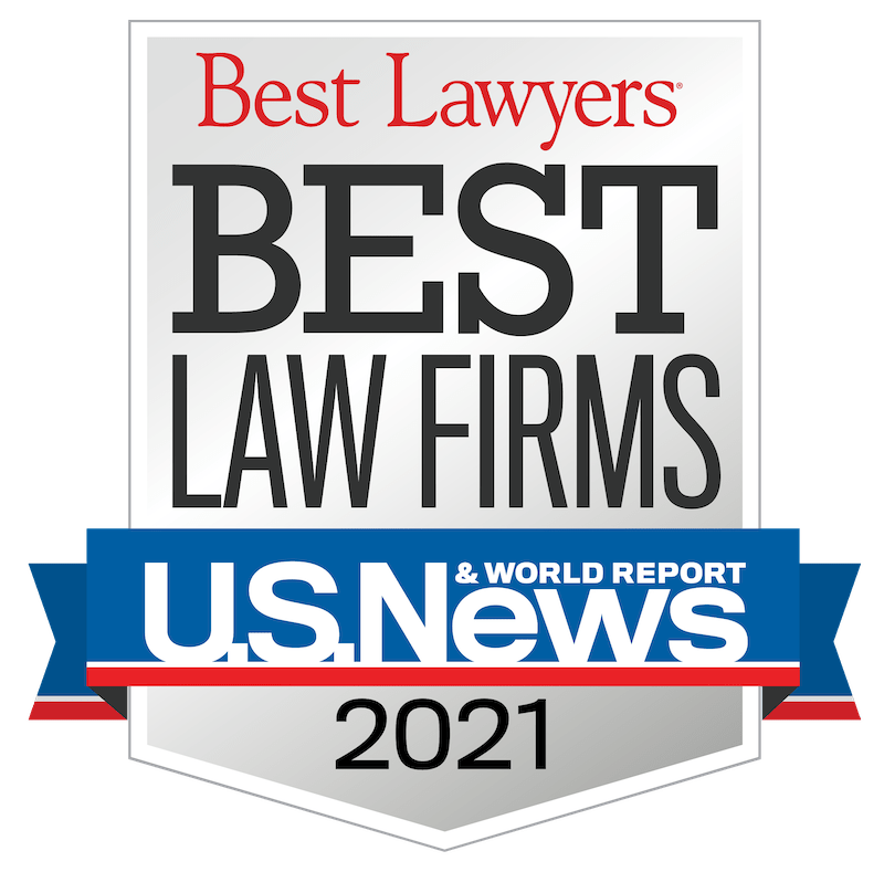 U.S. News endorses as one of 2018's Best Law Firms
